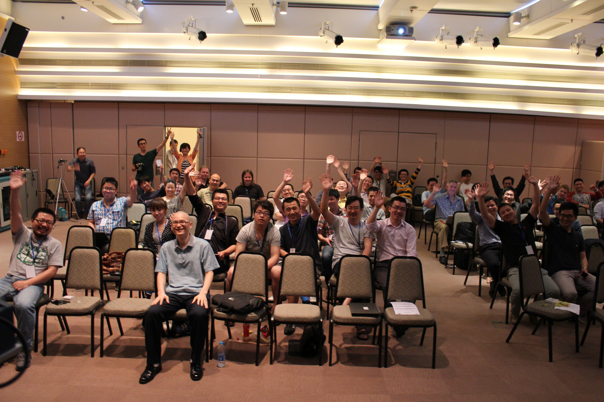 Audience at the first JoomlaDay in China