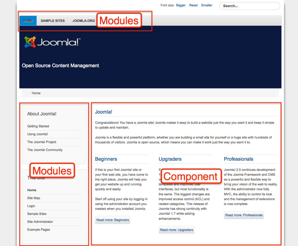 Joomla 35 Iron Blogger