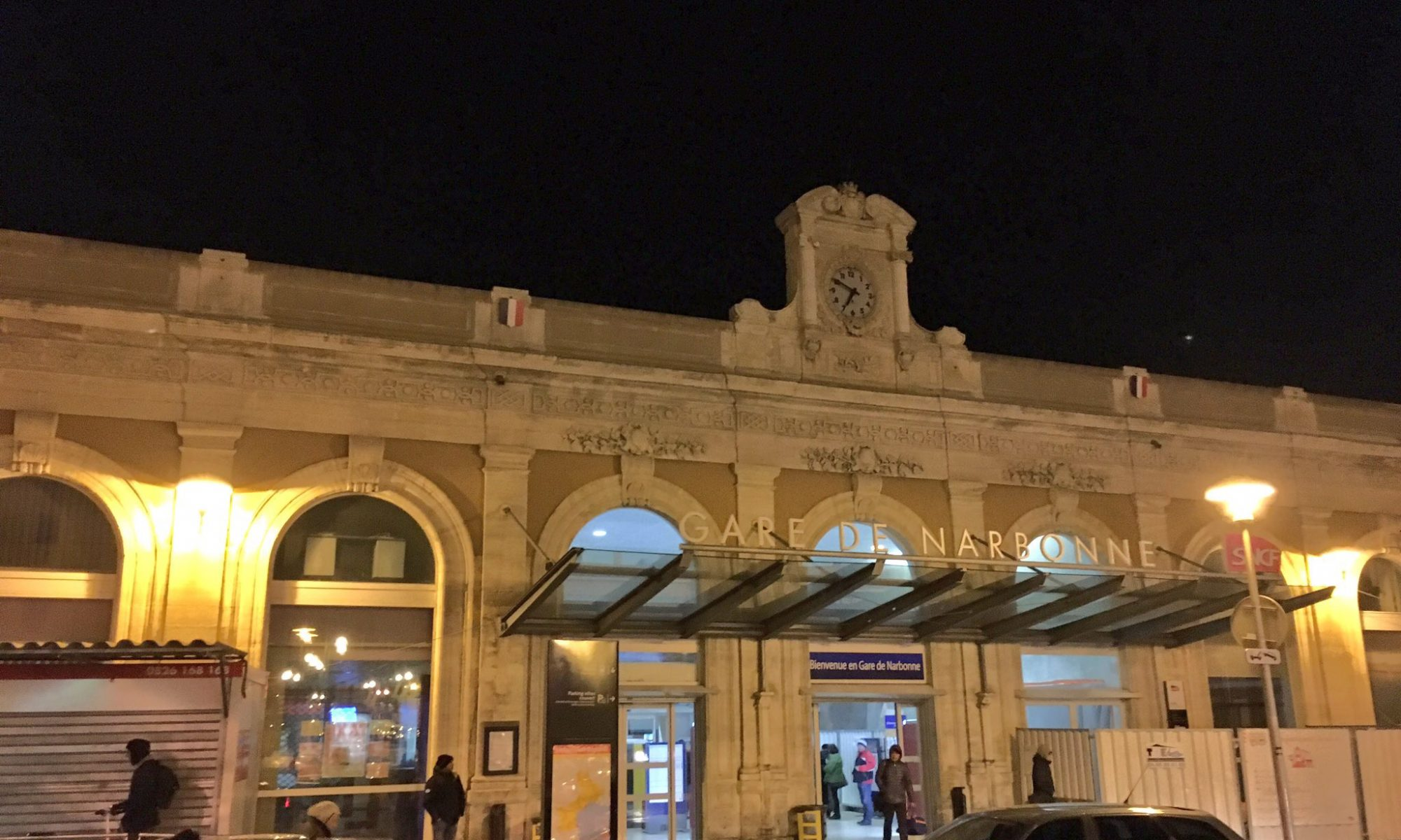 Bahnhof in Narbonne