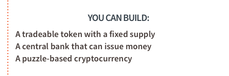 Ethereum - You can build