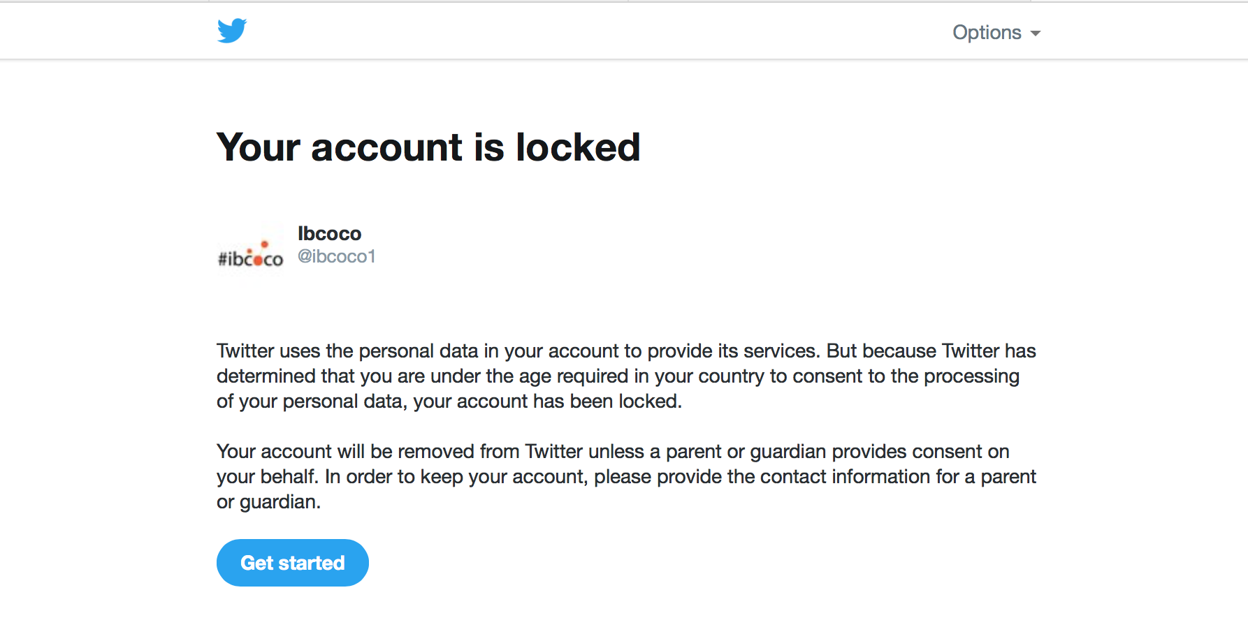ibcoco1 is locked
